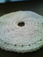 引き返し編みできたー