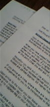 ドキドキの英文ファックス